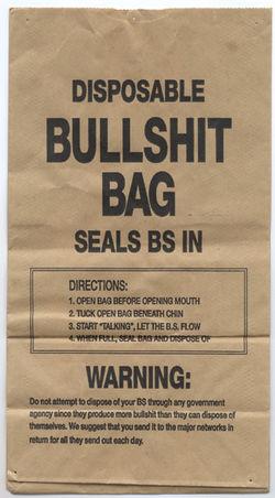 Bullshit-bag