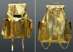 Billionaire-boys-club-gold-rucksack-front