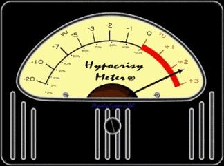 Hypocrisy-meter 2