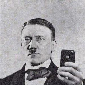 Hitler iphone