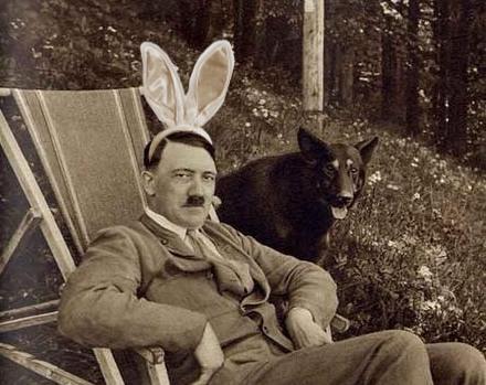 Hitler bunny ears