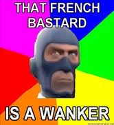 Wanker french