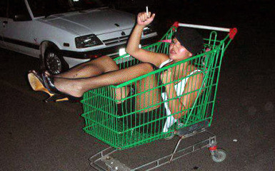 Drunk-girl-grocery-cart