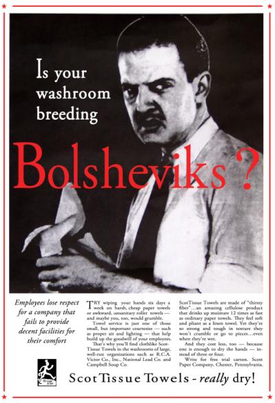 Washroom-bolsheviks