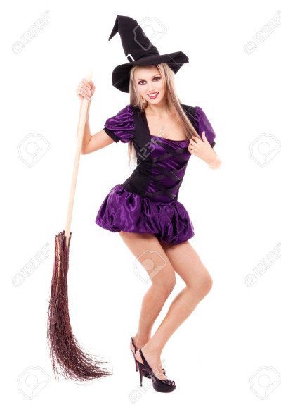 10644082-pretty-sexy-young-blond-witch-with-a-broom-isolated-against-white-background