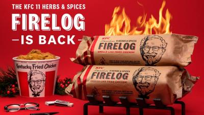 KFC-Fire-logs