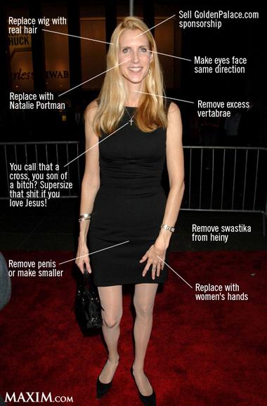 RONDA: Ann coulter fucking